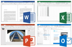 Microsoft Office Suite 2016 professional - rented license